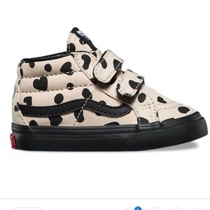 Vans toddler heart high tops 5